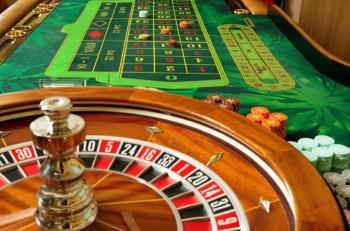 roulettebord + hjul